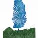 Big Feather, Waiotemarama - print by Allan Gale