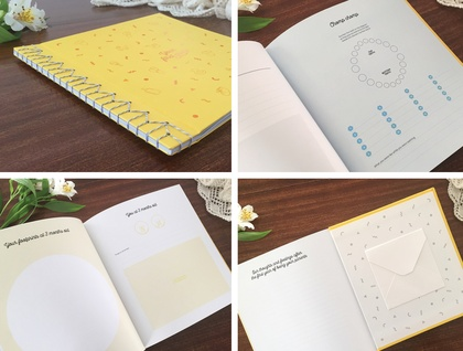 Baby Boy Record Book - Your First Year