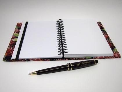 A6 Visual Diary – Pohutukawa