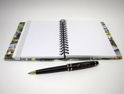 A6 Visual Diary – Retro Holiday