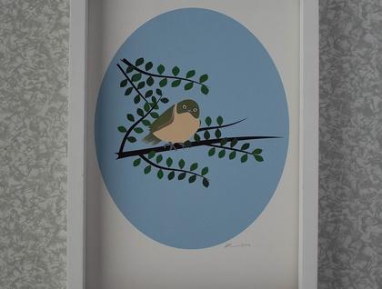 Tauhou Print - A4 - Unframed