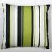 Stripe cotton cushion