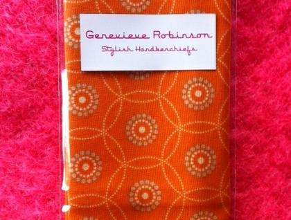 Sylish Handkerchief - orange sorbet