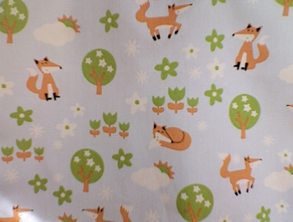 Foxy cotton handkerchief
