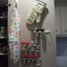 Plastic bag storage holder