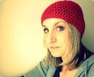 Red Crochet Beanie