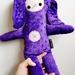 Purple Softie Bunny