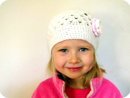 Springtime Beanie (toddler/child)