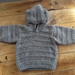 Toddler's Knitted Hoodie