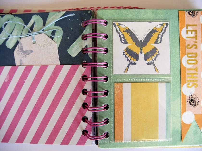 Butterfly Photo Album/Journal