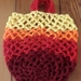 Market Bag -Tequilla Sunset Hand crocheted