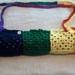 Yoga Mat Bag Chakra Colours - Hand Crocheted.