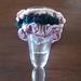 Scrunchies - Panne Velvet. Set of 3. Green. Pink.