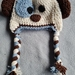 6 - 12 months Puppy Hat with Earflaps