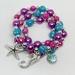 Little girls Mermaid Bracelet Stack