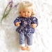 Miniland Doll clothing Tunic Top Pants Set