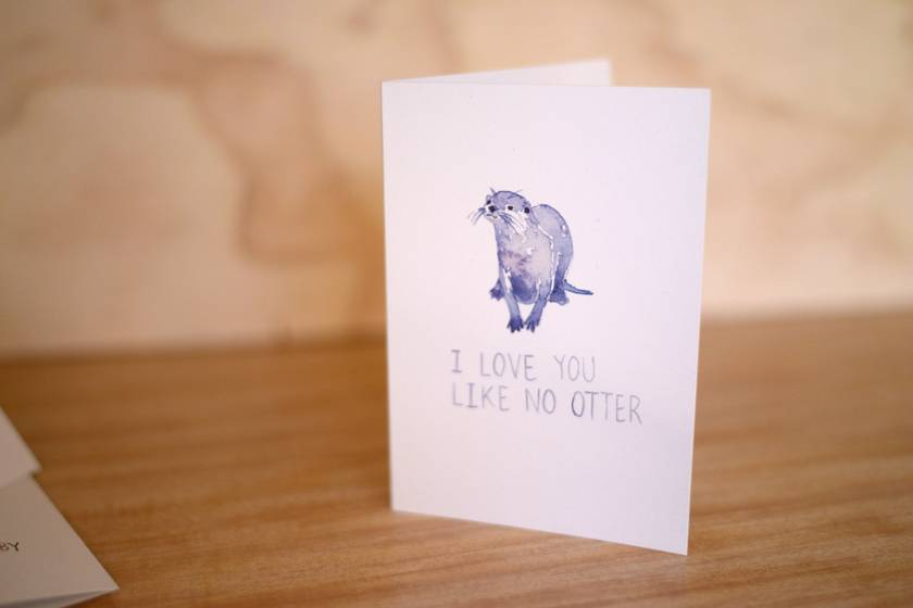 I Love You Like No Otter