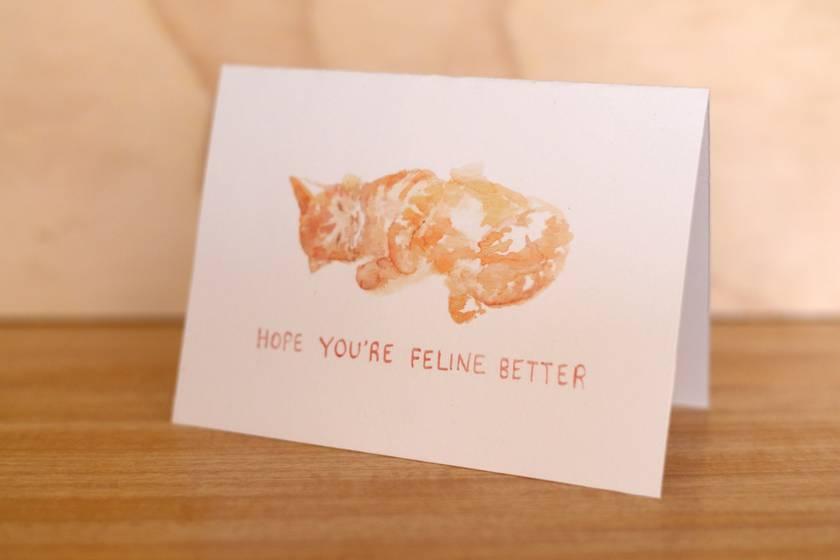 Hope You're Feline Better