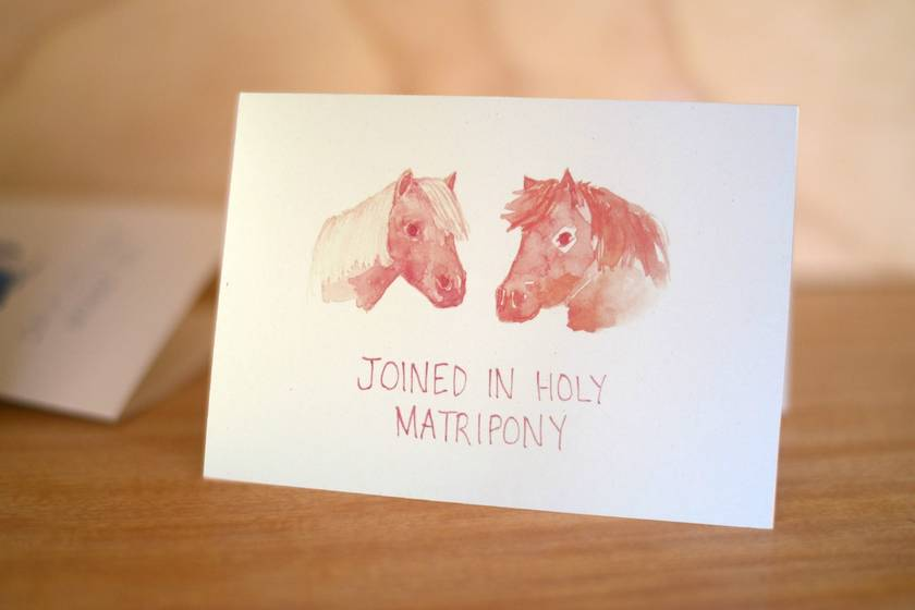Joined In Holy Matripony