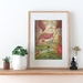 'Thumbelina' Art Print