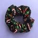 Candy Cane Christmas Scrunchie