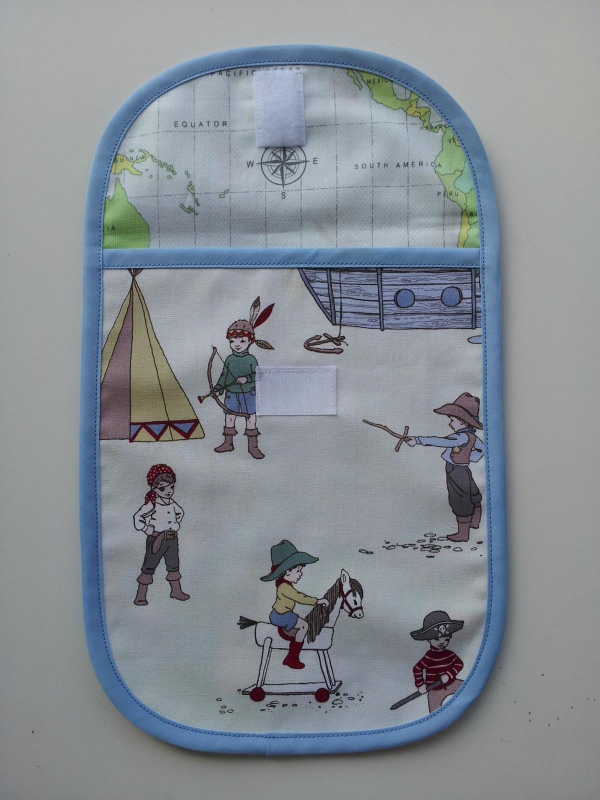 diaper nappy bag boy 39 s adventure felt. Black Bedroom Furniture Sets. Home Design Ideas