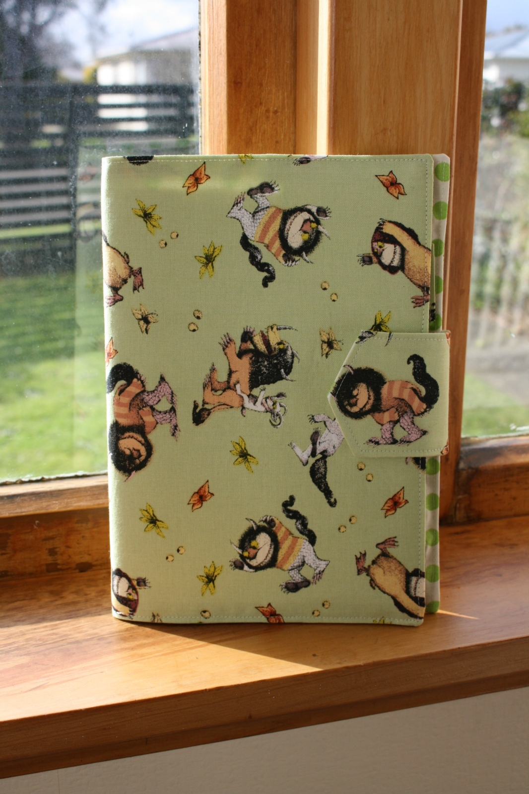 Plunket Book Cover Pattern ~ Well child plunket book cover quot where the wild things are