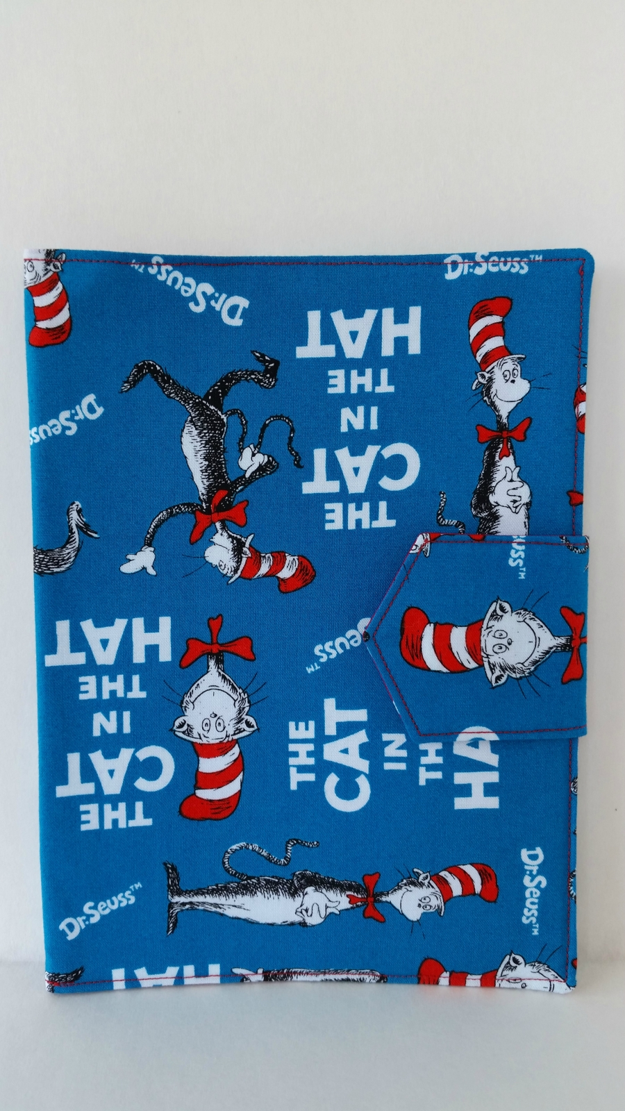 Plunket Book Cover Pattern ~ Well child plunket book cover quot the cat in hat felt