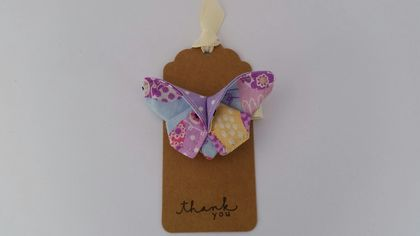 "ORIGAMI Butterfly Hair Clip ""Sweet Owl"""