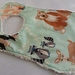 """Chenille Baby Bib """"Oh Hello in Meadow"""""""