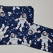 "Reusable Sandwich & Snack Bags Set ""Astronauts"""
