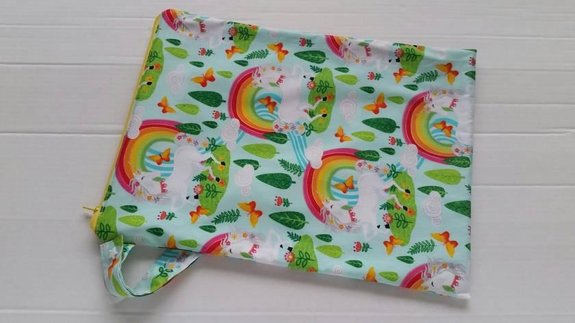 "Wet Bag ""Unicorn with Rainbow"""