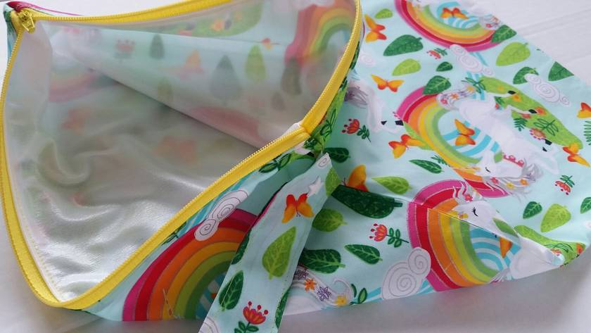 "Wet Bag ""Unicorn with Rainbow"""