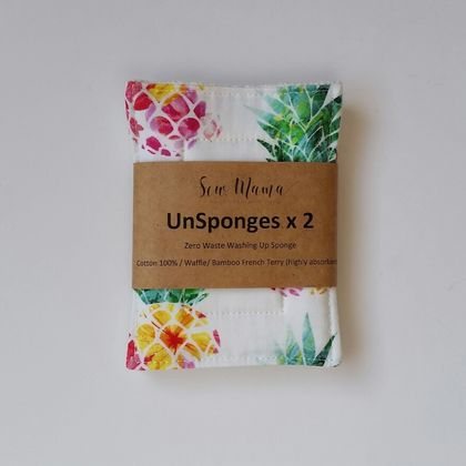 "UnSponges x 2 ""Tropical Pineapples"""