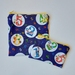 """Reusable Sandwich & Snack Bags Set """"Dr. Seuss with numbers"""""""