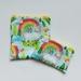 "Reusable Sandwich & Snack Bags Set ""Unicorn with Rainbow"""