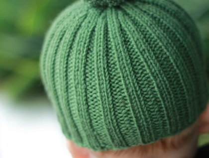 MENS RIBBED BEANIE KNITTING PATTERN | Free Knitting Patterns