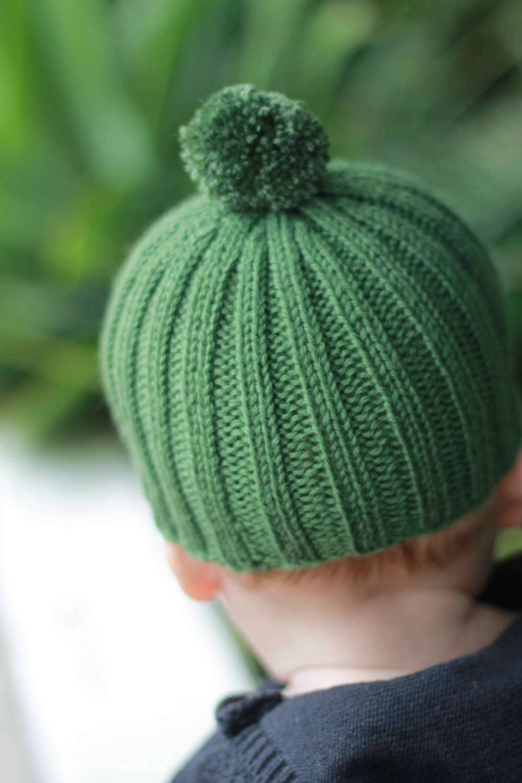 Knitting Pattern For Ribbed Beanie : PDF knitting pattern for Ribbed Rascal Beanie Felt