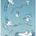 Dawn Chorus, art print of NZ birds, kereru, kotuku, fantail, tui, silvereye.