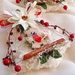 Rustic White  Christmas Tree Wreath