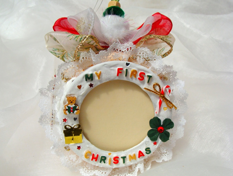 1st Christmas Personalized Christmas Ornament Baby S