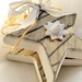 Rustic Wood Star Ornament, Christmas Tree Star