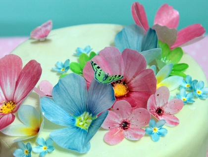 Edible wafer paper flowers felt edible wafer paper flowers mightylinksfo