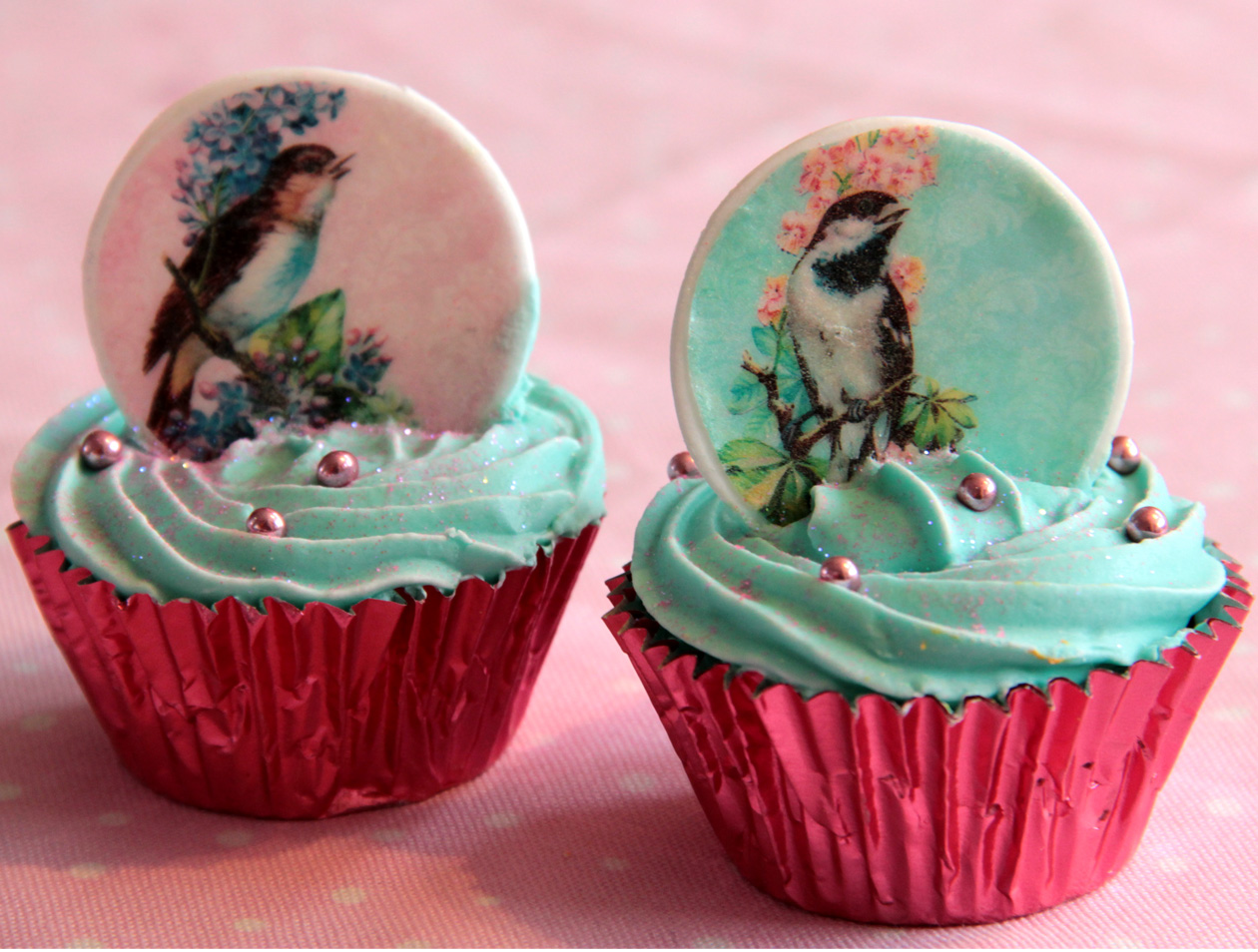 Cake Edible Images Nz : Edible wafer paper Bird Images Felt