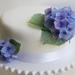 Edible Wafer Paper Hydrangea Fowers
