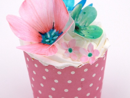 Edible Wafer Paper Fairy Flowers