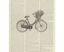 Vintage Dictionary Print - Vintage Bicycle