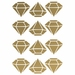 Diamond Removable Wall Stickers