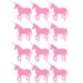 Unicorn Removable Wall Stickers