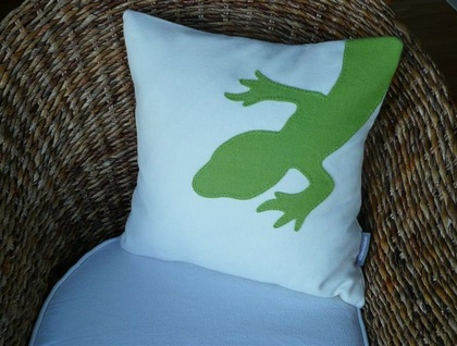 Gecko Cushion Cover